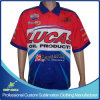 Custom Sublimation Printing Men's Motorcycle Pit Crew Race Shirts