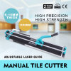 1200mm Manual Tile Cutter Ceramic Porcelain Cutting Machine