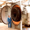 2500X6000mm Horizontal Indirect Steam Heating Rubber Vulcanization Autoclave