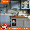 Two Sided Glass Door Simple Style Kitchen Cabinet