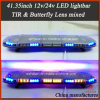 41.35 Inch LED Strobe Lightbar with Mixed Lens (TBD-GC-811L-5C)