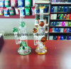Colorful Tortoise Decoration Glass Water Smoking Pipe with Shower Head