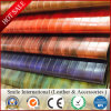China Cheap PVC Leather Stocklot, PVC Artificial Leather A Grade Stocklot for Bag