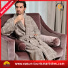 Luxury Hotel Microfiber Velour Men′s Bathrobe