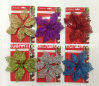 Hot Sale Artificial Glitter Flower Xm-C-1012 Christmas Ornament