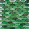 Green Crystal Glass Mosaic Flooring Tile