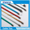 Chinese Manufacture Spray Plastic Stainless Steel Cable Ties