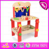2015 Wooden Kids Tool Table Set Toys, DIY Tool Play Toys Wooden Toy Tool Set, Big Funny Wooden Tool Platform Tables Toys W03D061