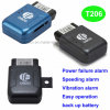 Easy Install Car Obdii GPS Tracker with Real Time Tracking T206