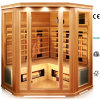 Coner Far Infrared Sauna Made of Hemlock or Cedar with Ceramic Heater Ce ETL, Dry Bath Sauna Room for Health Weight Loss