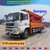 Sany 37m Isuzu Chassis Used Truck Concrete Pump