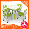 Stronger Plastic Kids Square Tables and Chairs for Preschool