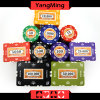 760PCS 12g Sticker Pure Clay Poker Chips Set for Gambling Game with Aluminum Case with Number and UV Logo Ym-Sghg003