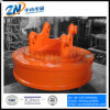 Dia-800mm Circular Lifting Magnet for Excavator Installation with 150 Kg Steel Scrap Lifting Capacity Emw-80L