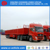 45FT 40FT 3 Axle Container 50tons Drop Side Semi Trailer