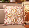 Embroidery Decorative Cushion Fashion Cotton Pilow (YPL-479)