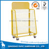 Wheels Retail Display Supermaket Shelf with Grid Rack