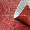 Top Sell Lychee Pattern PU Leather for Making Sofa Furniture