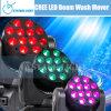 12 X 12W RGBW Quad LED Wash Moving Head (CY-LMH-12)