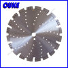 Laser Welded Diamond Saw Blade for Cutting Asphalt