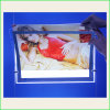 CNC Engraving Acrylic LED Backlit Slim Light Box for Adbertisement