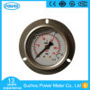 2.5inch-63mm Liquid Filled Pressure Gauge Front with Flange