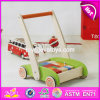 New Design Building Blocks Wooden Baby Walkers for Boys W16e066