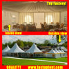 China Factory PVC Hexagon Tent for Conference Diameter 8m 60 People Seater Guest
