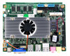 Mini Itx Motherboard with Intel Atom D525 Processor for Thin Client Support Win 7 XP System