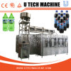Automatic Pet Bottled Carbonated Beverage Filling Capping and Packing Machine
