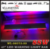 24V LED Warning Light Blue and Red Traffic Flash Light