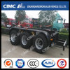 Cimc Huajun 3 Axle Dolly with Spare Tire
