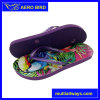 Three Colors High Quality Flat Beach PE Slipper