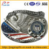 Custom 3D Metal Badge with American Heroes Souvenir