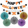 Umiss Paper Fan Bunting Banner Halloween Party Decoration for Factory OEM
