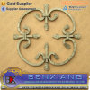 Sand Blasted Casting Wrought Iron Rosettes