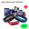Pen Charger Bluetooth Smart Wristband with Heart Rate Mornitoring (HB02)
