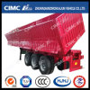 New Design Van/Box-Type Side Tipping Semi Trailer with Self-Lifting Device