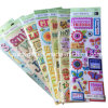 Customize 3D Dimensional Handmade Paper Craft Stickers