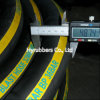 Sand Blasting Hose Textile Braided Corrugated Surface