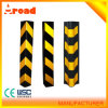 Rubber Corner Guard with Yellow Reflector