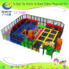 Superboy Amusement Park Trampoline with Foam Pits