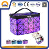 Laser Diamond Pattern Portable Makeup Bag (HB-6312)