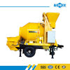 8m3/H Yanmar Diesel Engine Mobile Concrete Mixing Pumping Machine