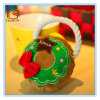 Christmas Pet Product Dogs Wreath Shape Knot Circle Rope Bite Toy