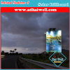 Hot-DIP Galvanized Steel Billboard Solar Advertising