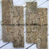 China Local Sesame Yellow Quartz Ledge Stone