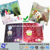 Pet Clear Glossy Permanent Weather Resistant Full Color Gift Packaging Stickers