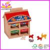 2014 New Kids Wooden Mini House Toy, Popular Children Wooden Mini House Set and Hot Sale Baby Wooden Mini House Wj276372