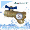Filter Ball Valve with Gauge/Y Type Ball Valve/Ball Valve